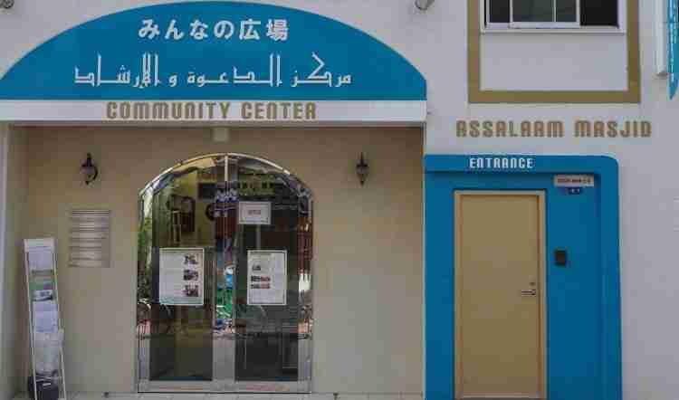 okachimachi masjid main gate