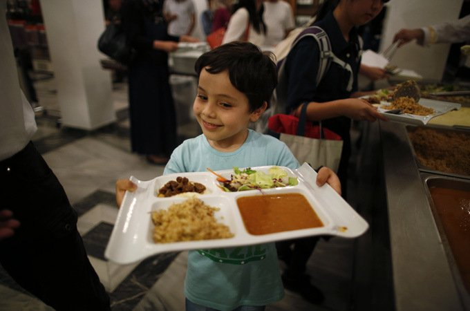 free ramadan kitchen in japan