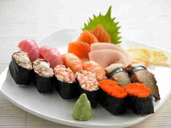 halal sushi from japan