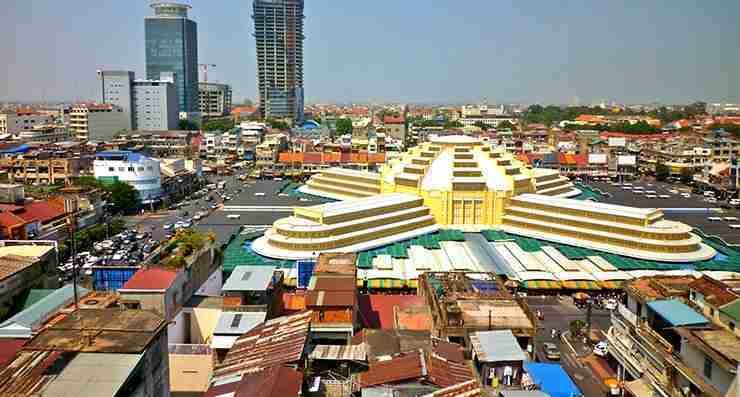 ana flights to Phnom Penh