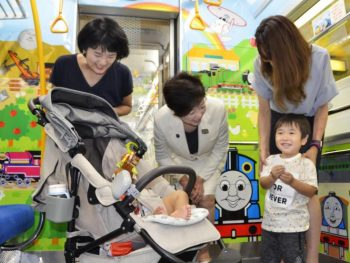 Toei Oedo Line Provides Child-Friendly Space
